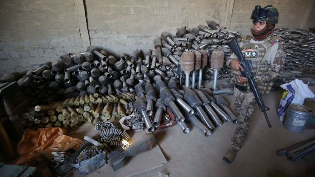 Armas americanas usadas pelo Estado Islâmico