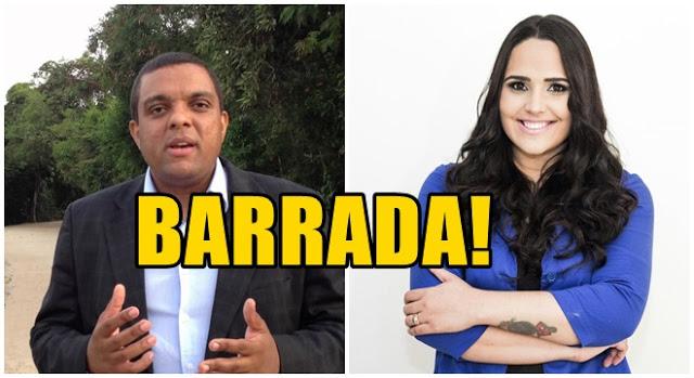 """Pastor Otoni de Paula """"Barra"""" Perlla em sua igreja"""