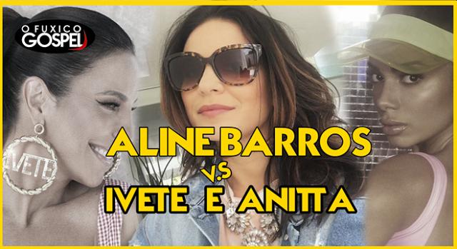 Aline Barros tem mais seguidores que Ivete Sangalo e Anitta