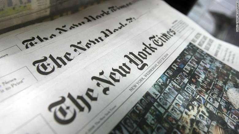 Aline Barros no The New York Times (Foto/Internet)