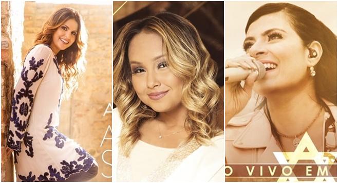 Aline Barros, Fernanda Brum e Eli Soares estão entre os indicados ao Grammy 2017