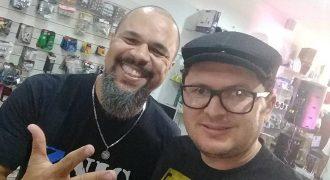 Oziel Melo e Cacau Santos