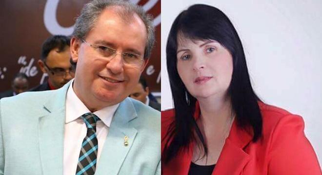 Esposa do pastor Reuel Bernadino tenta defender o marido e comete erro grave