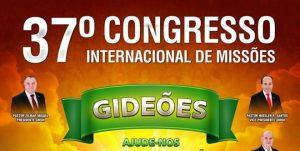 Cartaz do Congresso Gideões Missionários