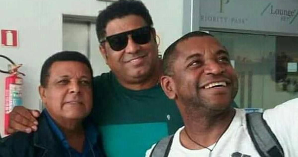 A foto de Alvaro Tito, Ozéias de Paula e Marcos Antônio, que você nunca viu antes