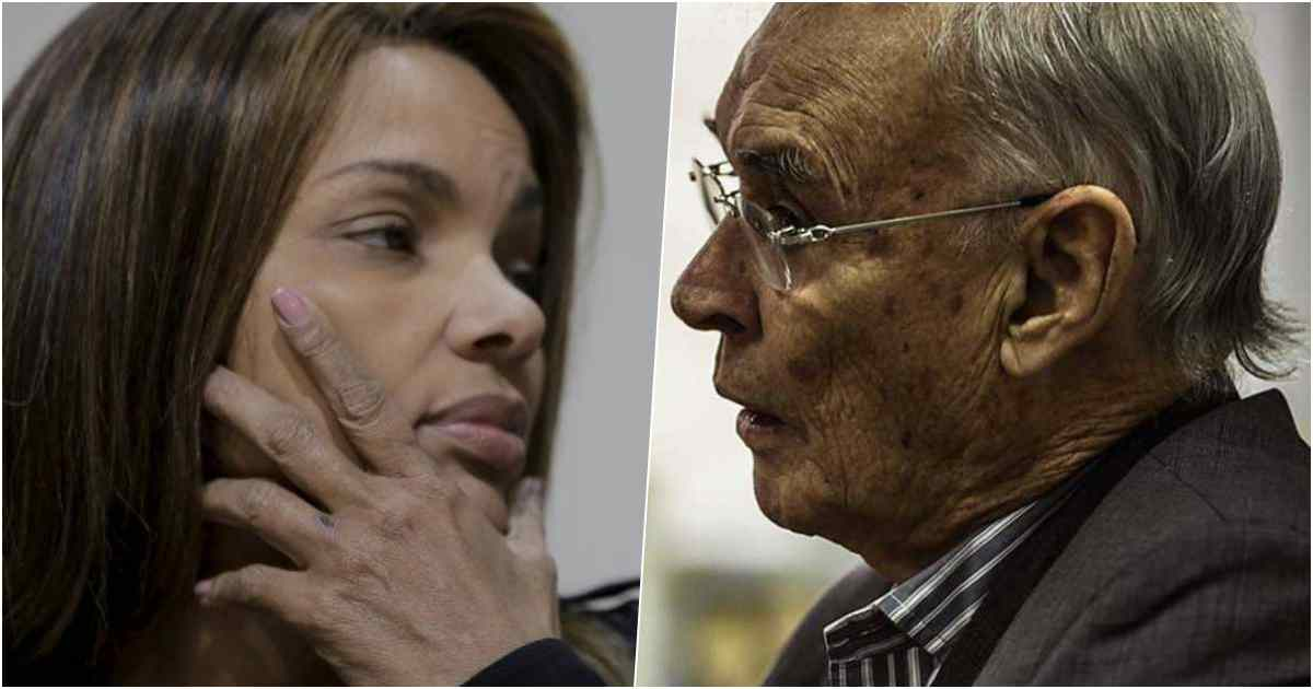 Cantora gospel Flordelis e Senador Arolde de Oliveira
