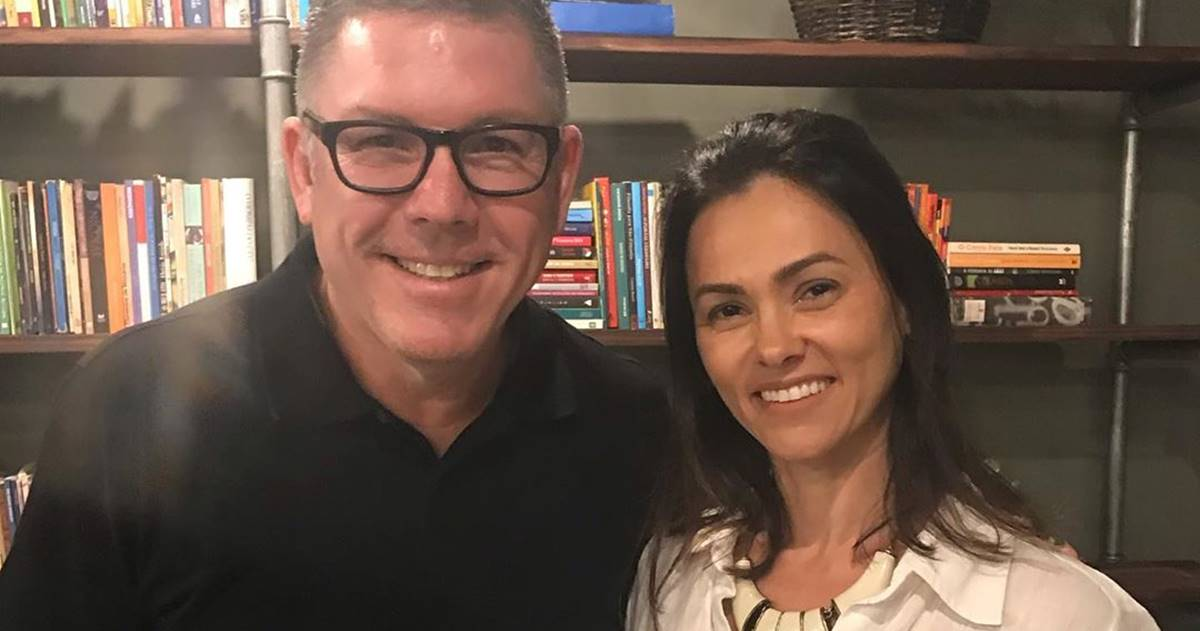 Ed René e Suzana Alves (Reprodução)