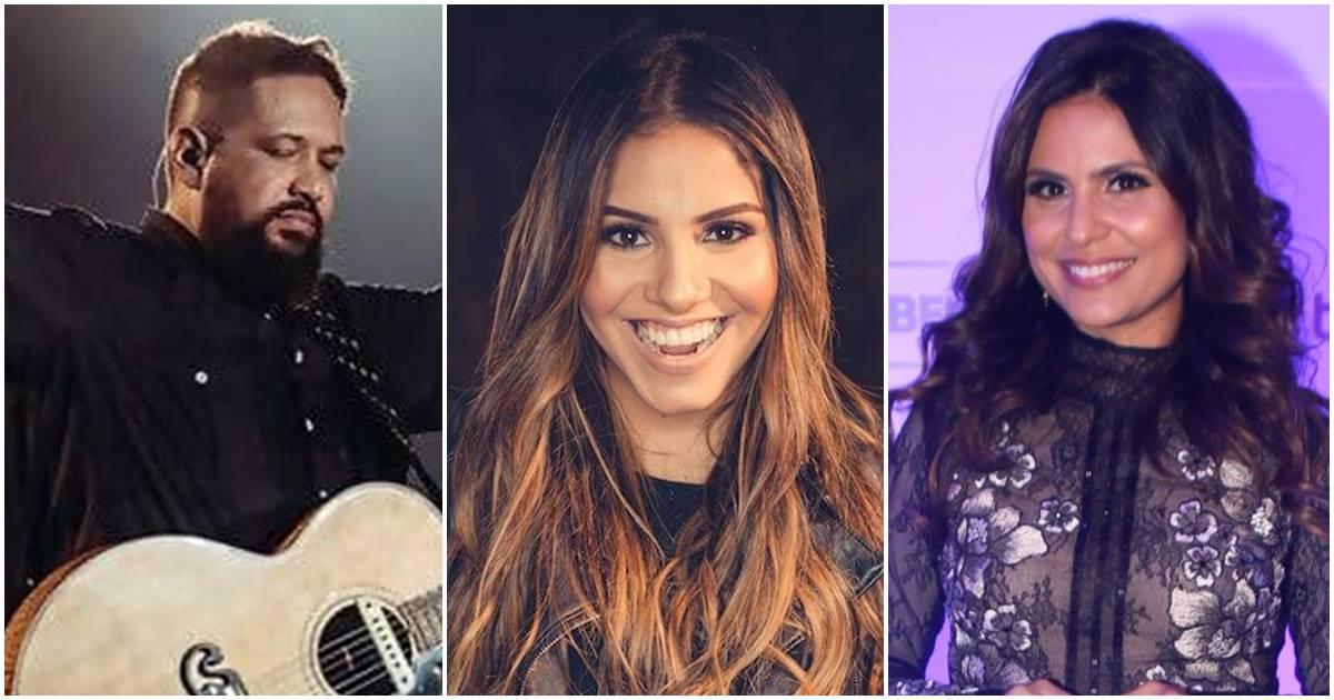 Fernandinho, Gabriela Rocha, Aline Barros (Reprodução)