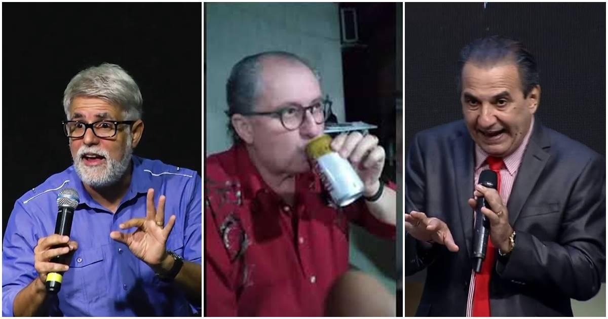 Cláudio Duarte, Reuel e Silas Malafaia (Reprodução)
