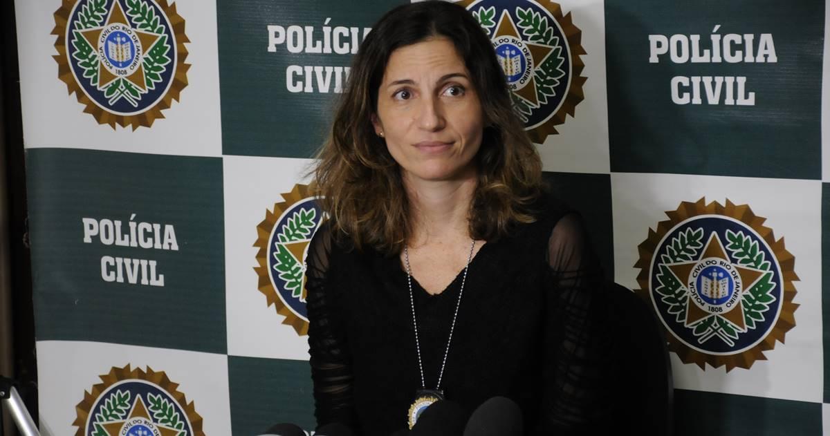 Delegada Bárbara Lomba (Reprodução)