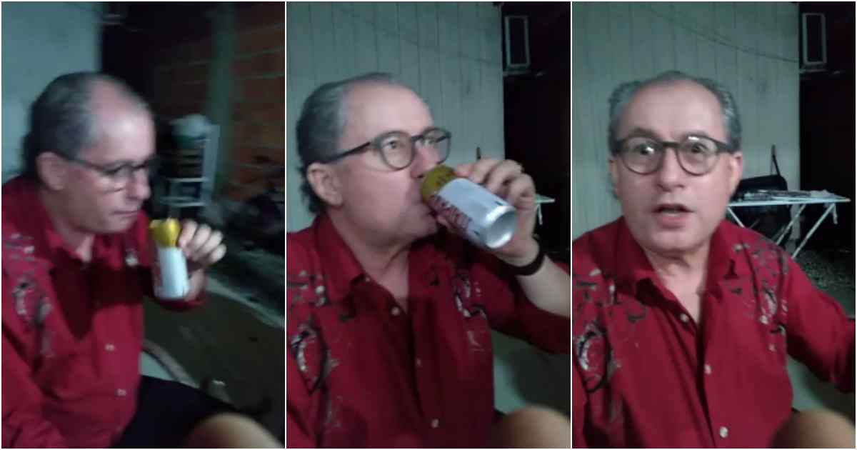 Pastor Reuel Bernardino bebado