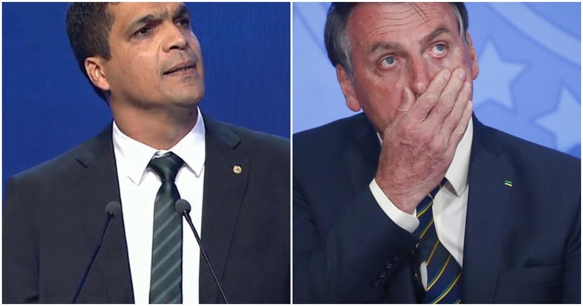 Daciolo e Bolsonaro (Reprodução)