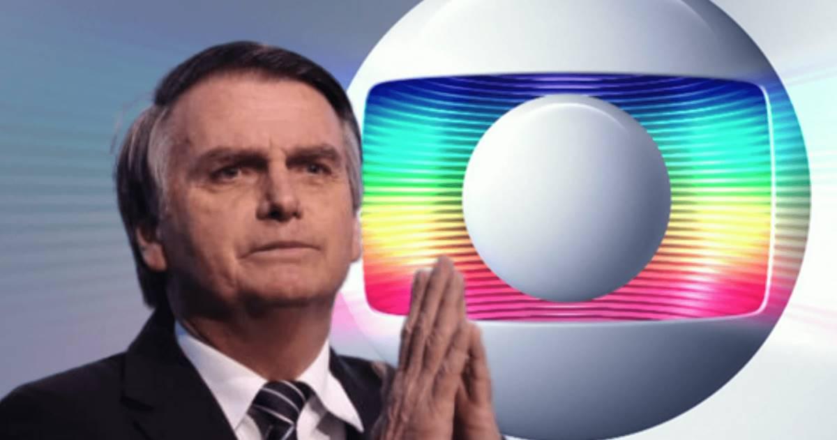 Globo vs Bolsonaro (Reprodução)
