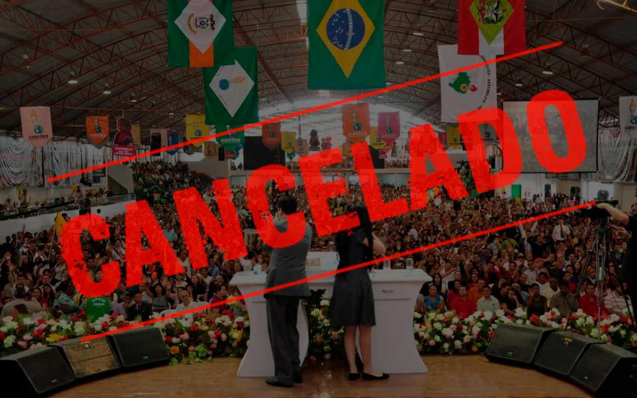 Congresso dos Gideões Missionários 2021 é cancelado