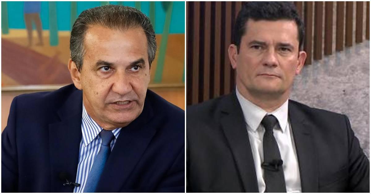 Malafaia e Sergio Moro (Reprodução)