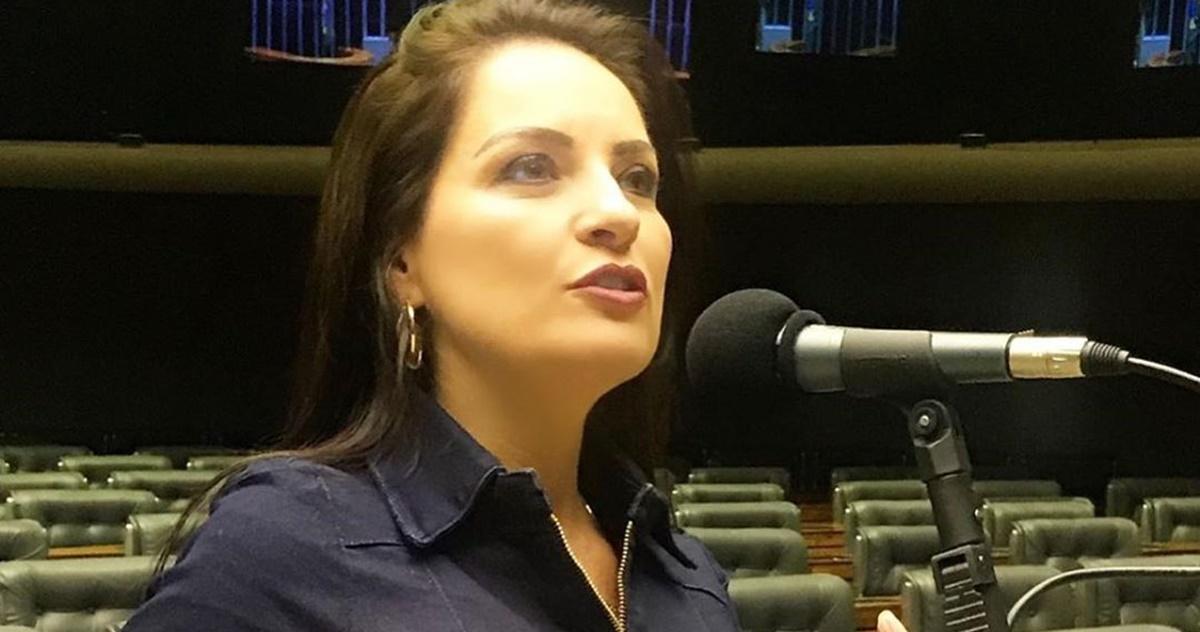 Deputada Federal Lauriete (Reprodução)