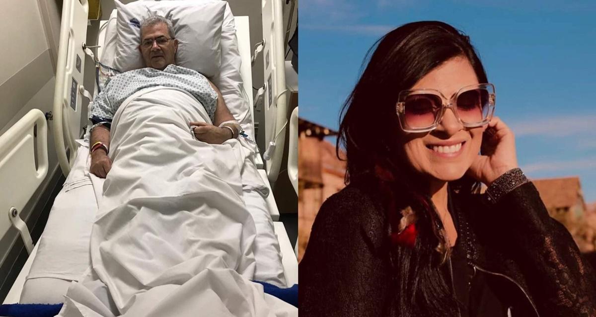 Pai de Fernanda Brum recebe alta do hospital mas está com coronavírus