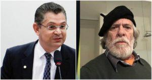 Deputado Sóstenes Cavalcante e José de Abreu (Reprodução)
