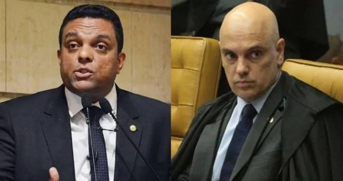 Otoni de Paula e Alexandre de Moraes (Reprodução)