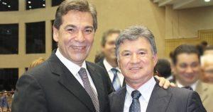 Pastor Jose´ Wellington Junior e pastor Alberto Resende de Oliveira(Reprodução)