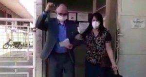 Pastor vence coronavírus (Reprodução)