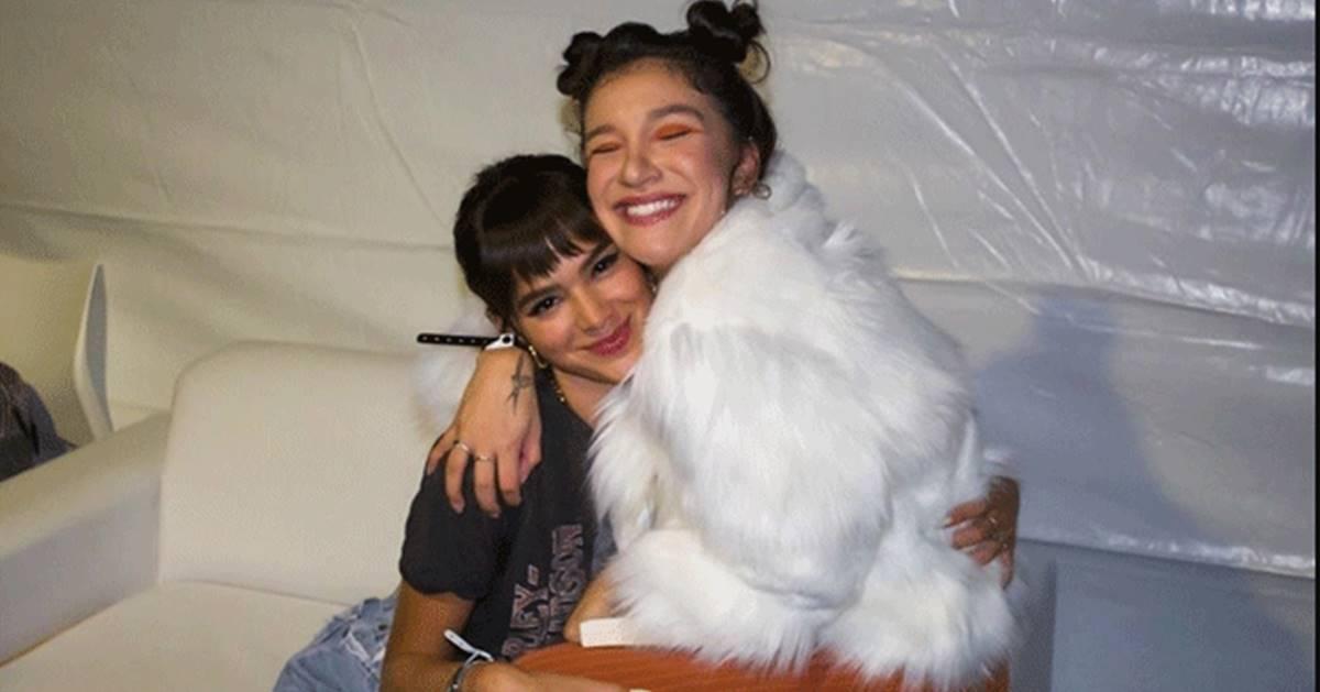 Priscilla Alcantara e Bruna Marquezine (Reprodução)