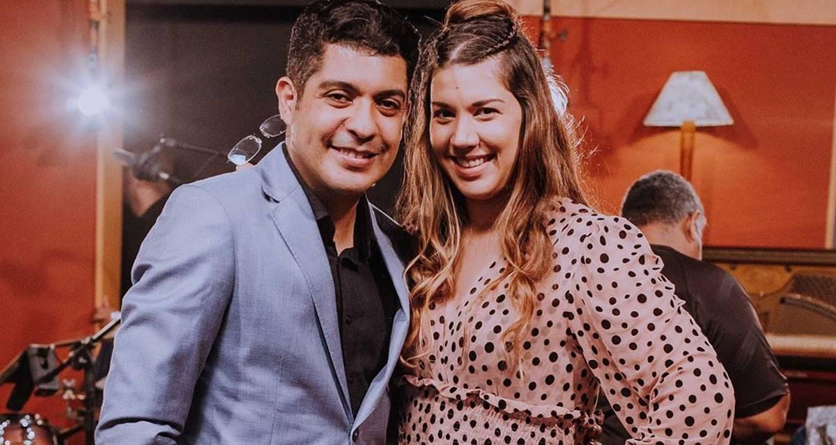 Claudio Louvor e Samara Lima (Reprodução)