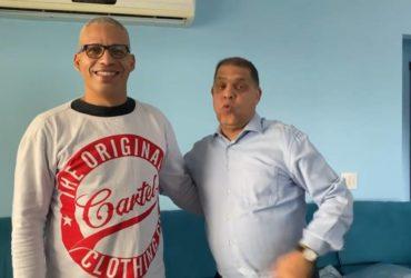 Junior Trovão e Marcos Pereira (Reprodução)