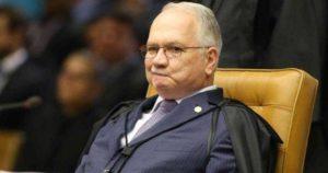 Ministro Edson Fachin (Reprodução)