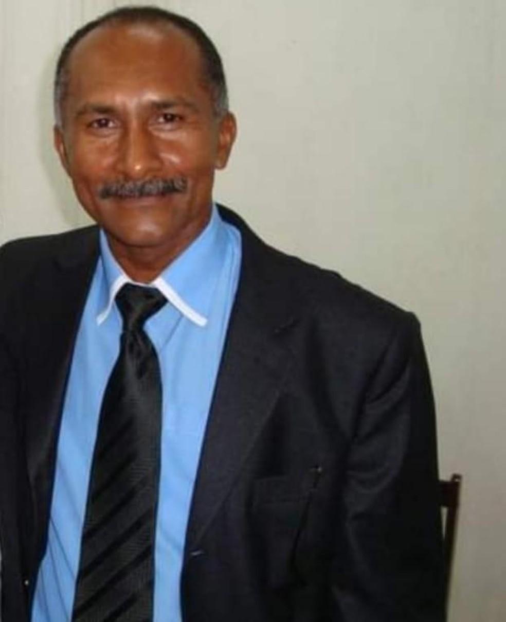 Pastor Aldemário Pereira da Cruz