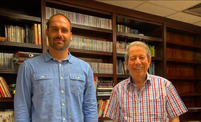 Eduardo Bolsonaro e RR Soares