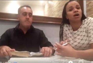 Pastor agrediu a esposa
