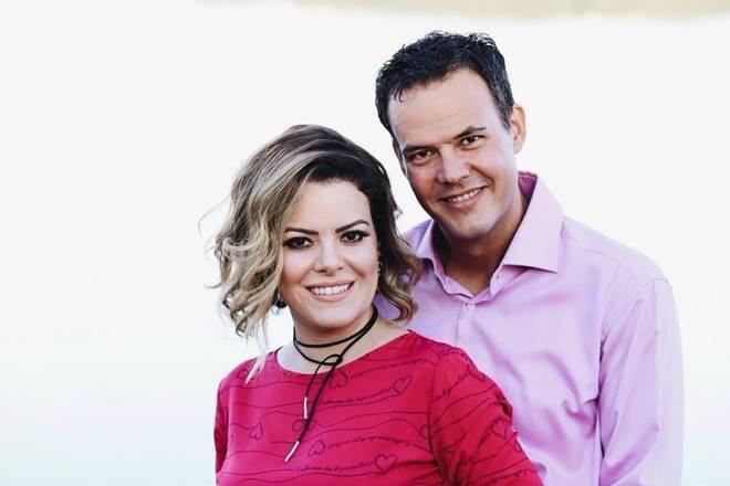 Ana Paula Valadão e Gustavo Bessa