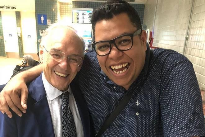 Arolde de Olliveira e Anderson Silva