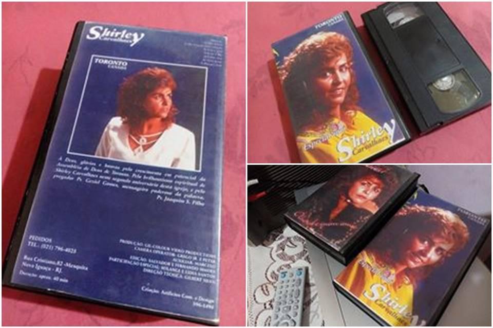 Fitas VHS de Shirley Carvalhaes