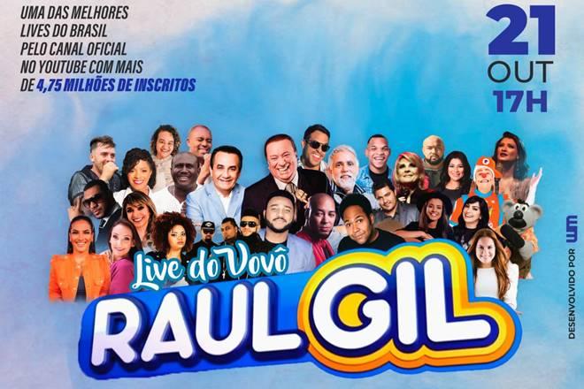 Live de Raul Gil