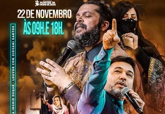 """Ap. Agenor Duque recebe Marco Feliciano em campanha """"Provocadores de Milagres"""""""