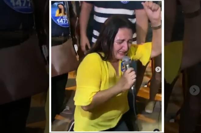 Vereadora eleita no Maranhão diz que Deus lhe deu a vitória: Assista!