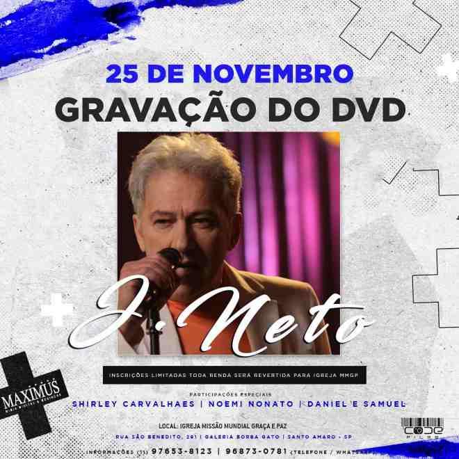 Gravação do DVD de J. Neto