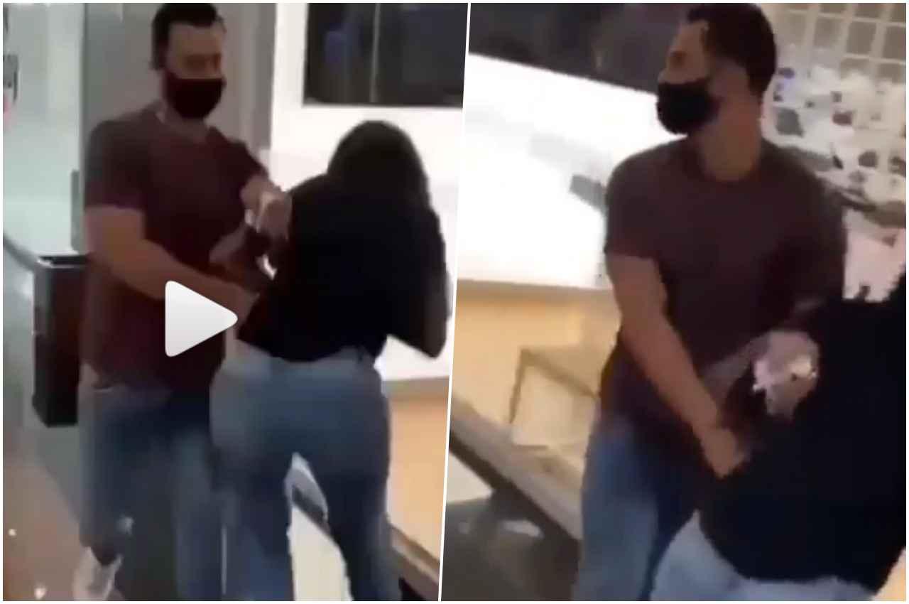 Flagrante: Irmã de cantor gospel é agredida pelo marido em shopping