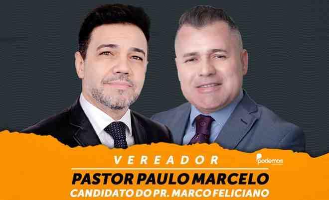 Pastor Marco Feliciano e pastor Paulo Marcelo