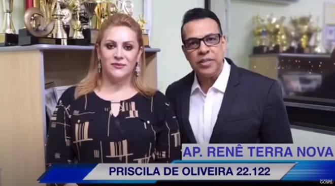 Renê Terra Nova indica Priscila de Oliveira para vereadora de Osasco-SP