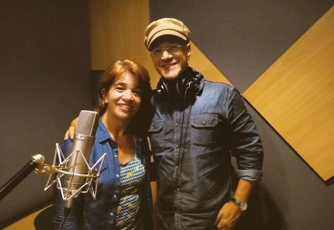 Adriana Marques retoma carreira e grava single com Sérgio Lopes