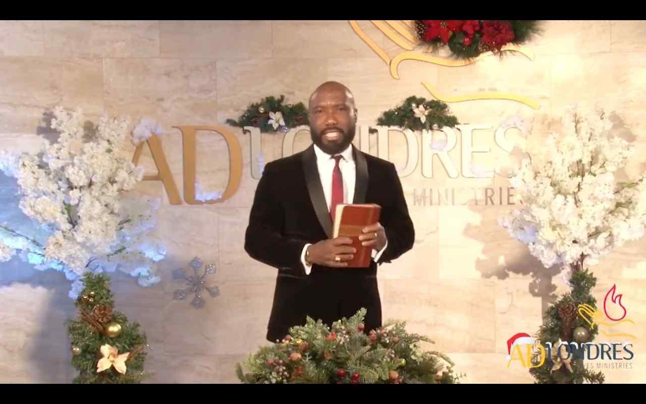 Em mensagem de Natal, líder da ADLondres fala de paz em meio a crise global