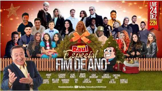 """Live """"Gospel"""" do Vovô Raul Gil acontece novamente recheada de estrelas!!"""