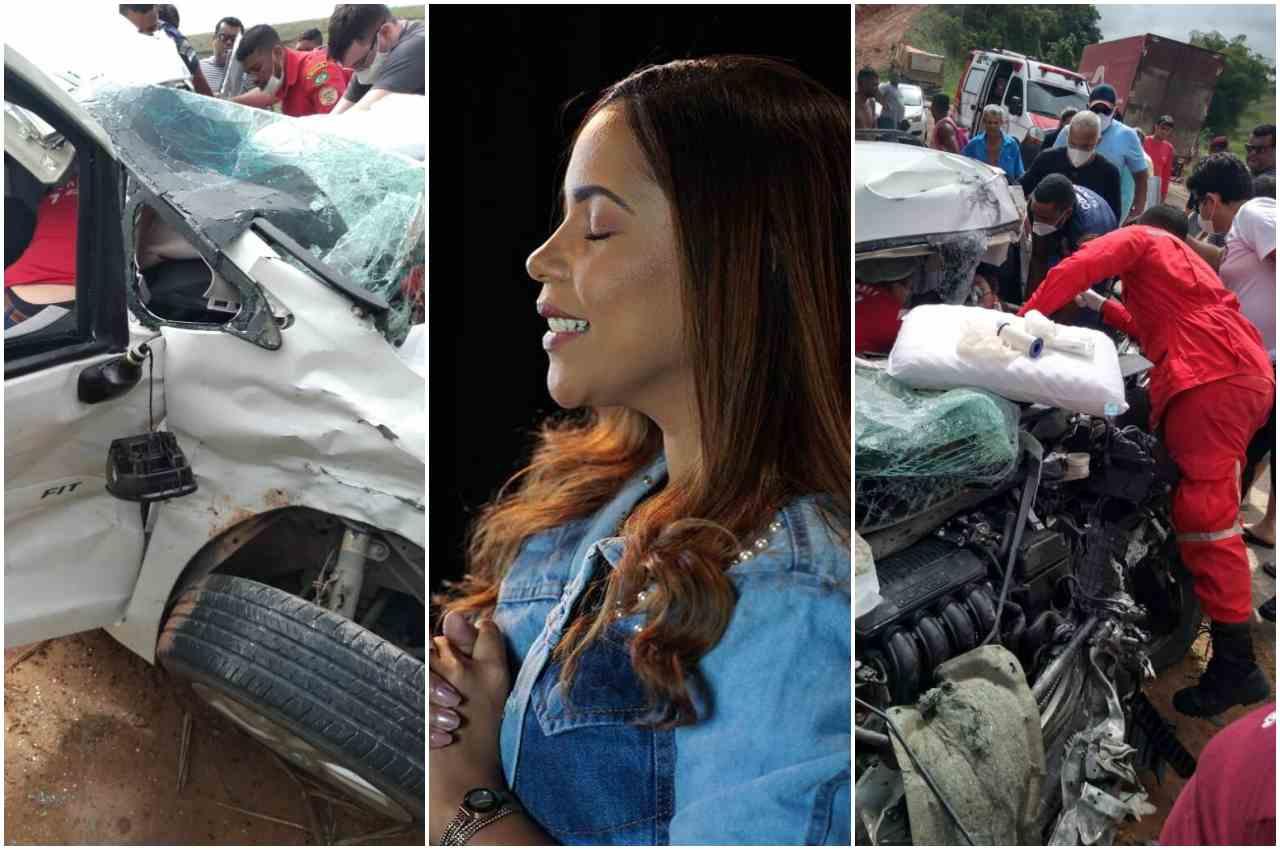 É fake a notícia de que Amanda Wanessa teve morte cerebral