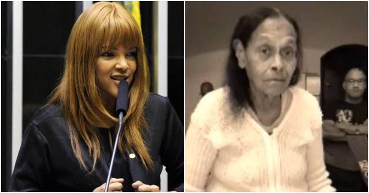 Mãe biológica de Flordelis revela que sofre maus tratos da cantora