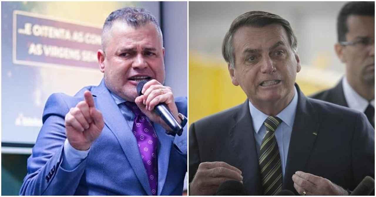 Vaza áudio de pastor 'detonando' Bolsonaro