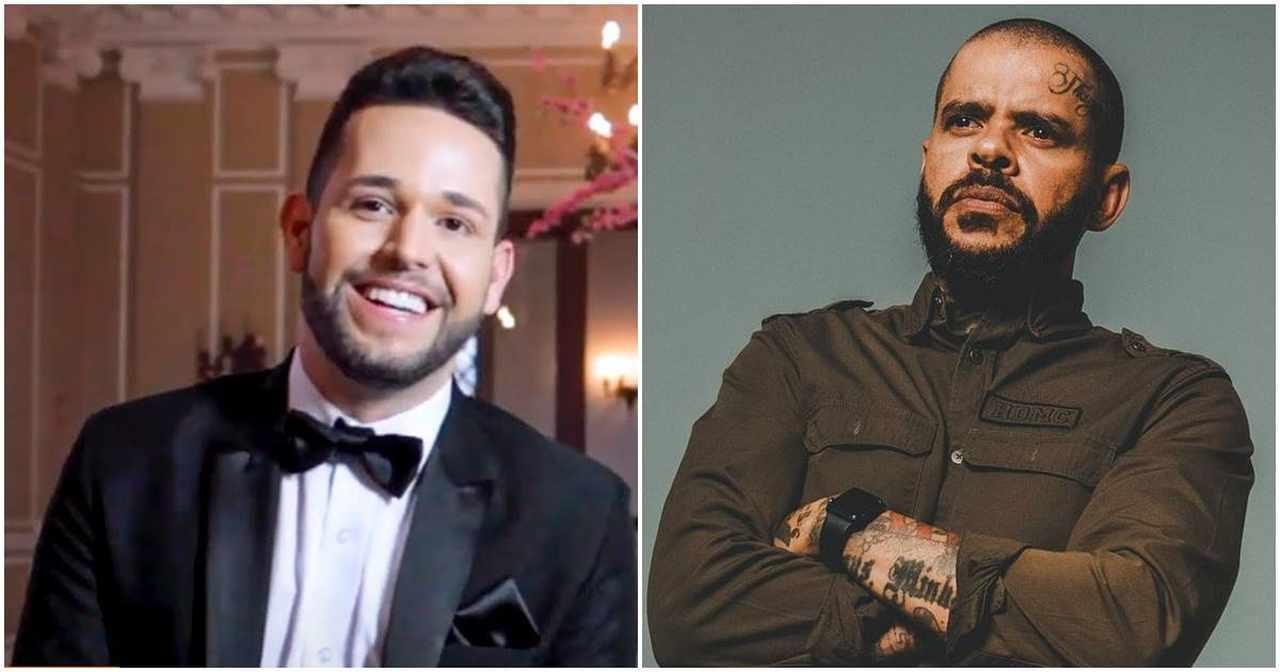 """Pastor Anderson Silva para o cantor gospel Pr. Lucas: """"Vira homem"""""""