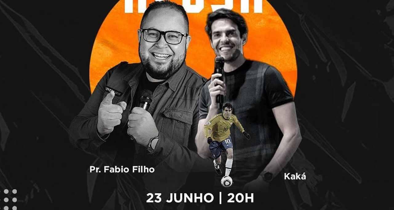 Ex-jogador Kaká participa da 'Live Azusa' nesta quarta-feira